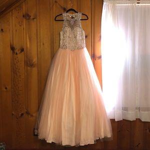 Blush Pink Ballgown Dress 💗